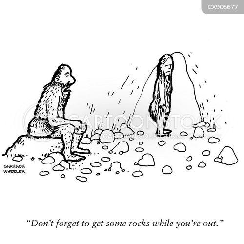 hunter gatherers cartoon