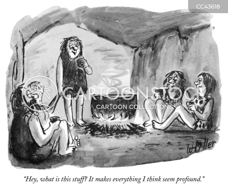Caves cartoon
