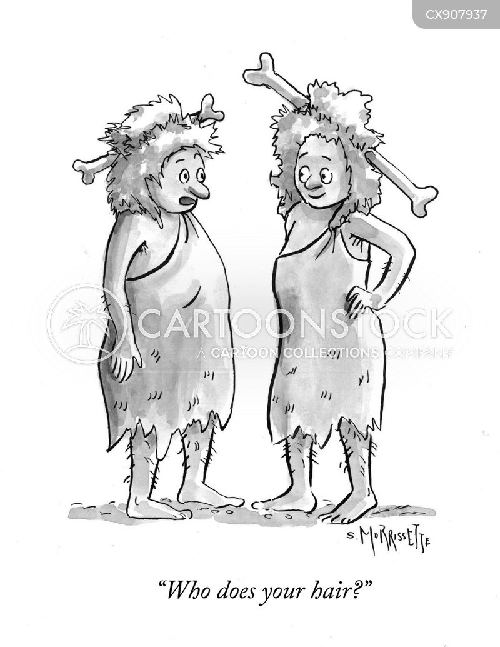 hairdos cartoon