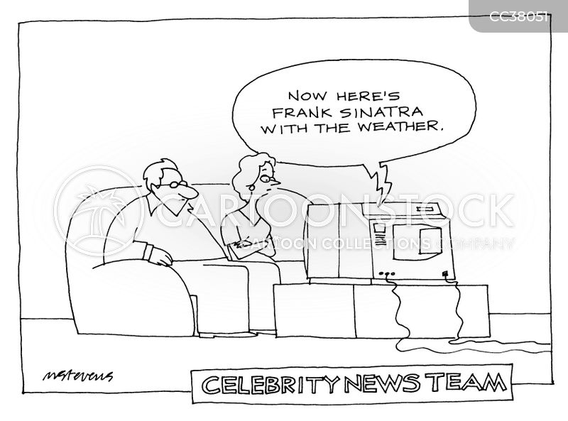 celebrity cartoon