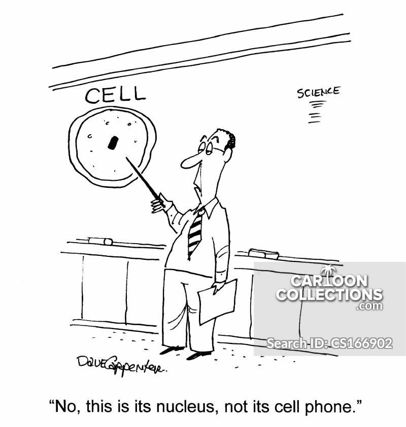 nucleus cartoon