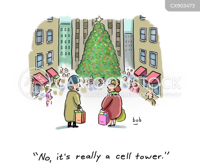 cell signals cartoon