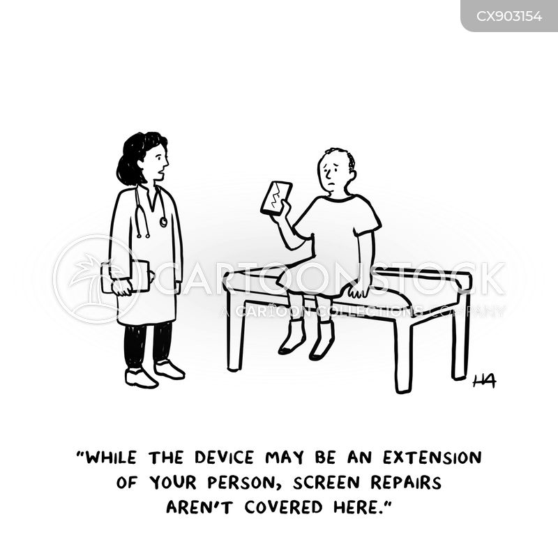 device cartoon