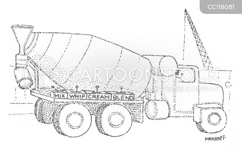 construction vehicles cartoon