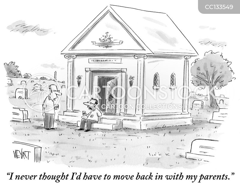 mausoleums cartoon