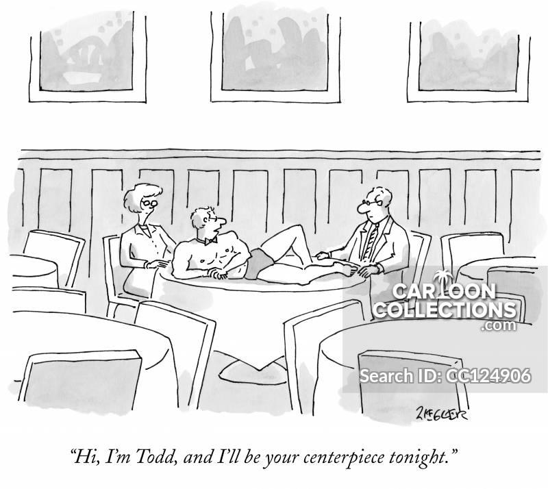 centerpieces cartoon