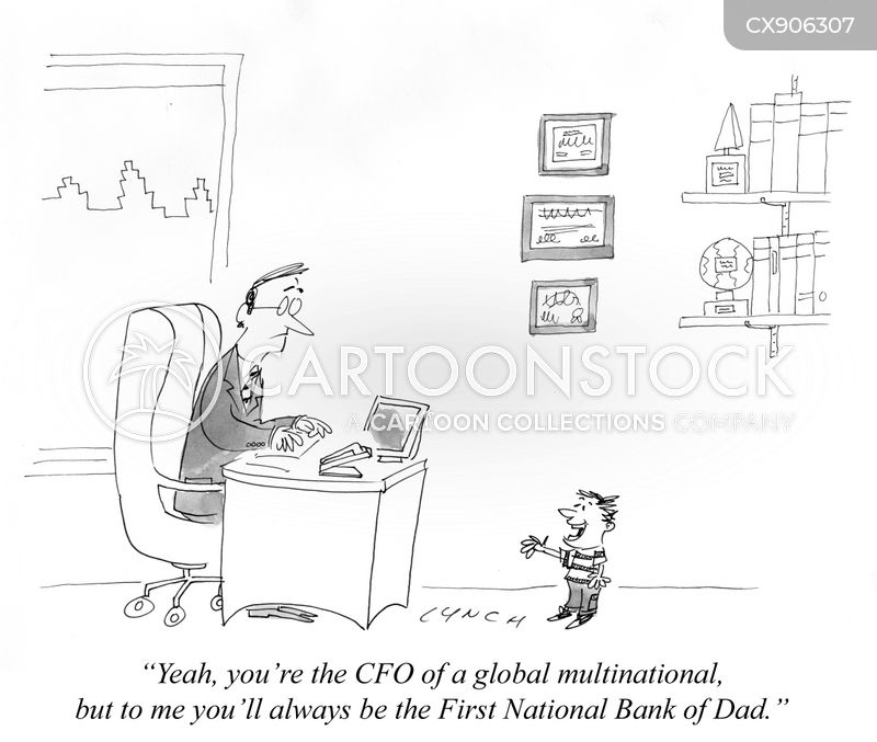 chief financial officers cartoon
