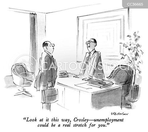 made redundant cartoon