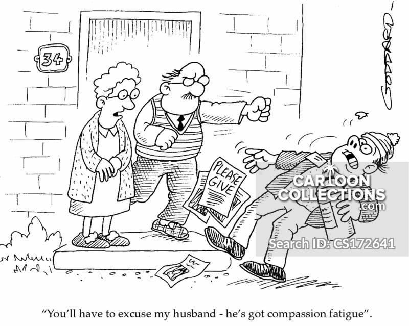 violent husbands cartoon