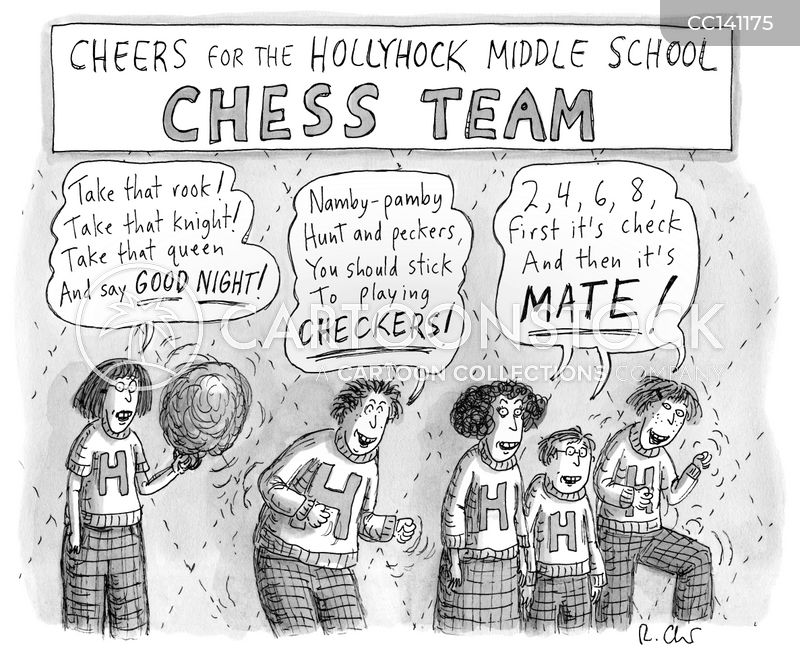 Pro Chess cartoon