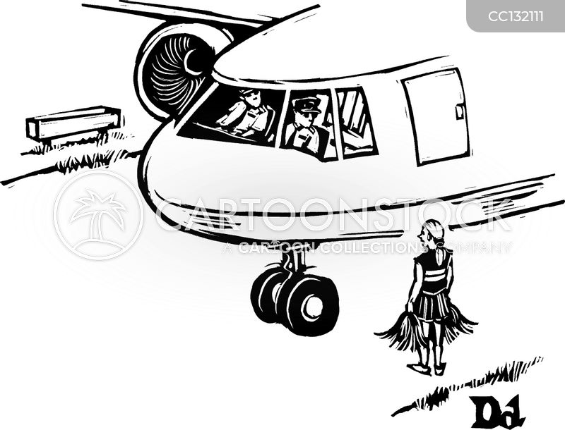 aeroplane cartoon