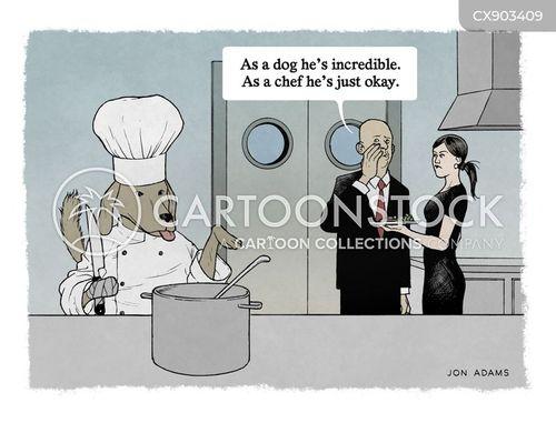 restaurant reviews cartoon