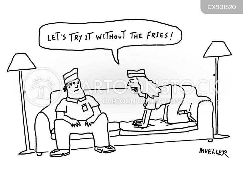 fries cartoon