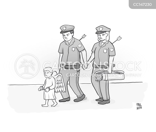 policewoman cartoon