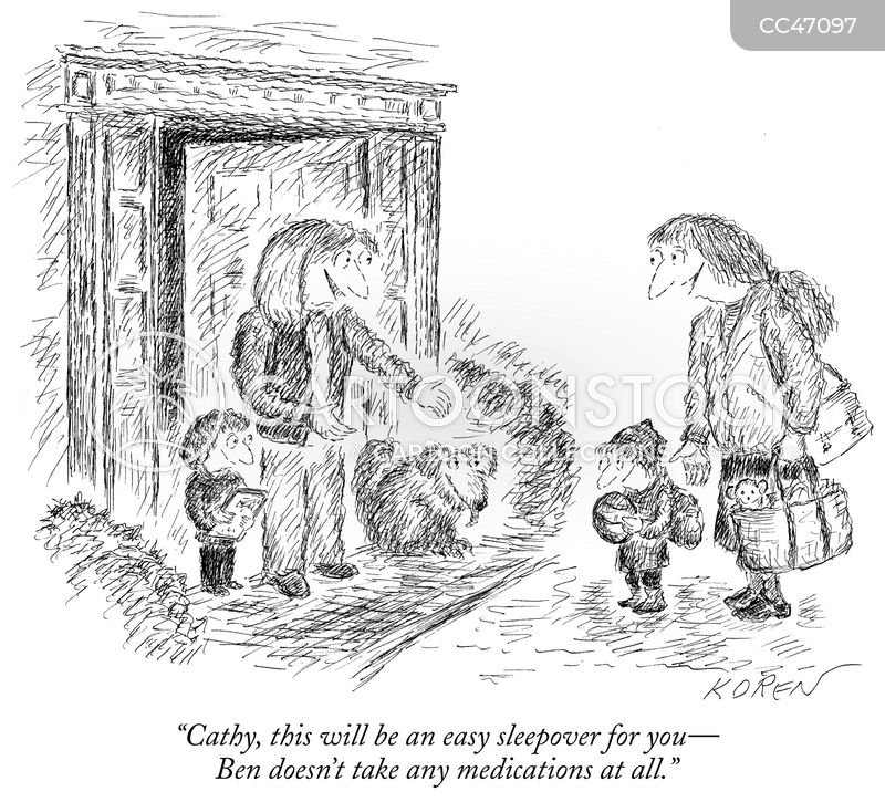 child-care cartoon