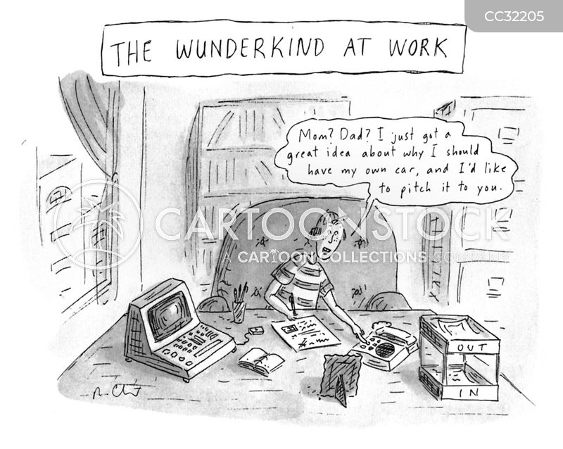 wunderkind cartoon