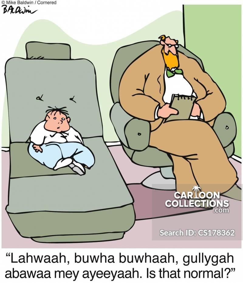 normal behaviour cartoon