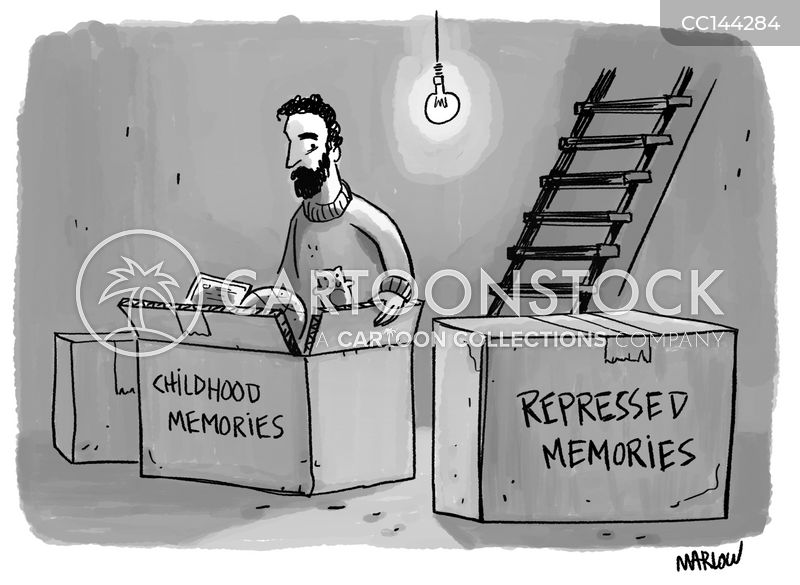 repressed memory cartoon