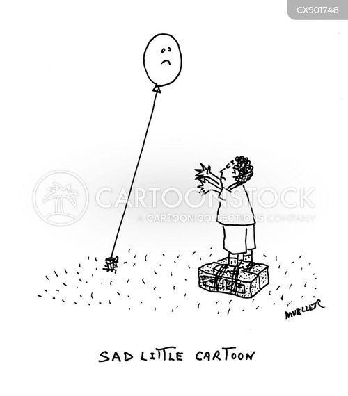 tied cartoon