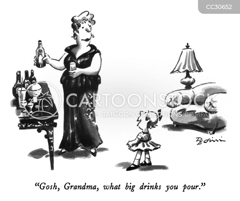 grandparent cartoon