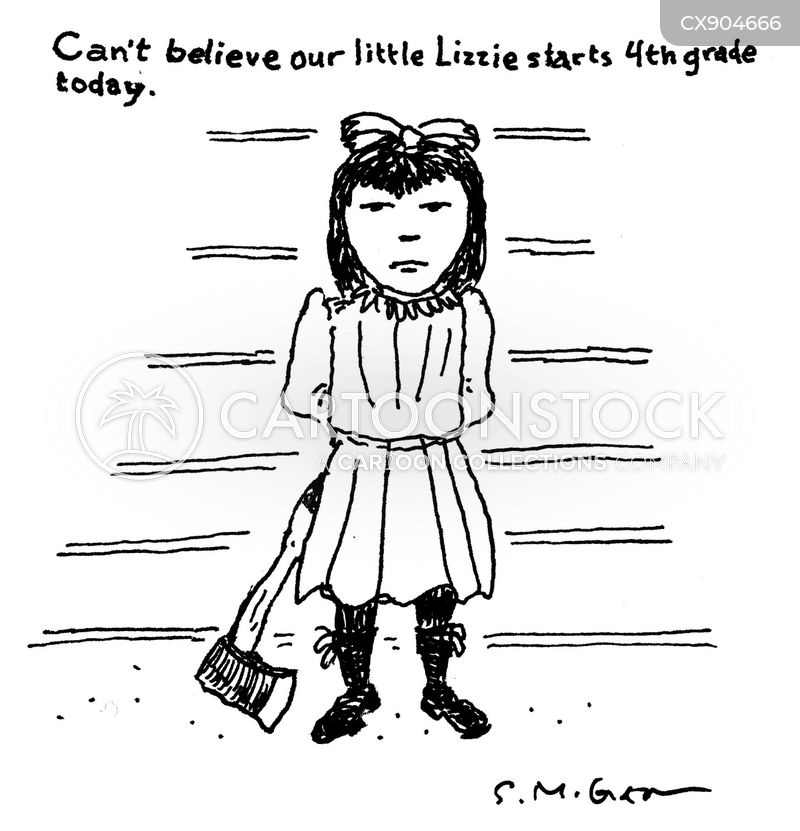little girls cartoon
