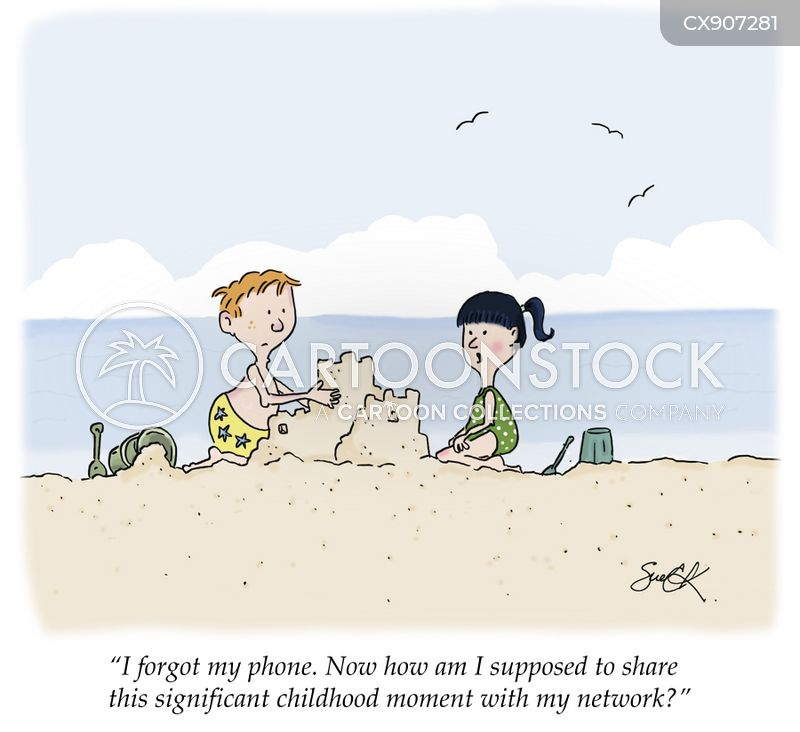 sandcastles cartoon