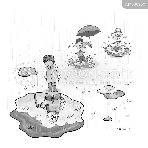 splashed cartoon