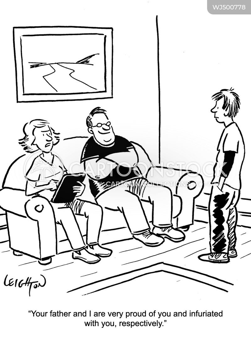 infuriated cartoon
