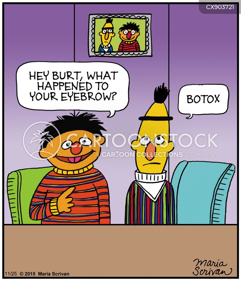 eyebrows cartoon