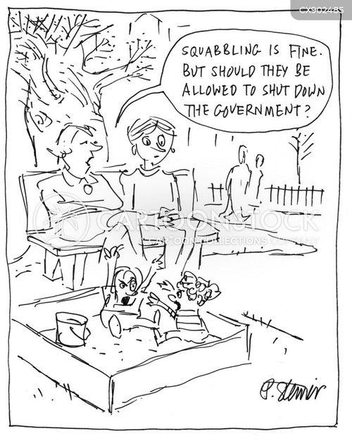 2019 government shutdown cartoon