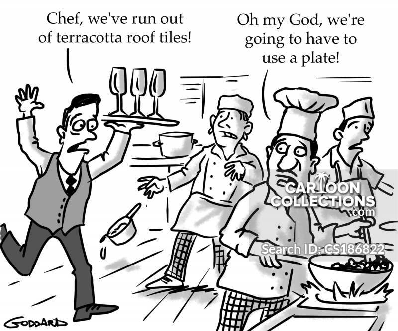 restaurant fads cartoon