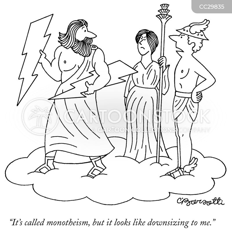 monotheists cartoon