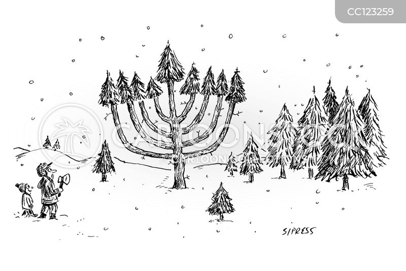 winter wonderland cartoon
