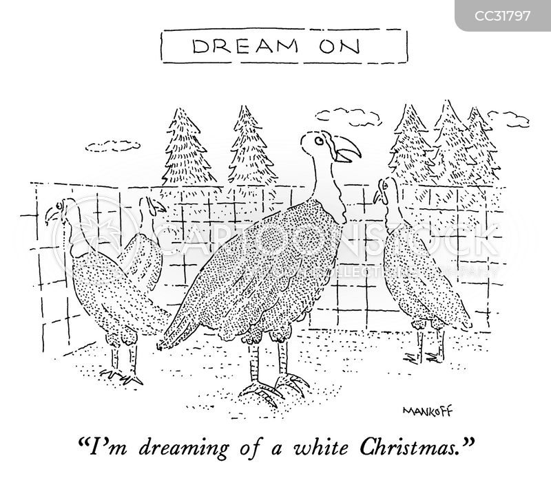 white christmases cartoon
