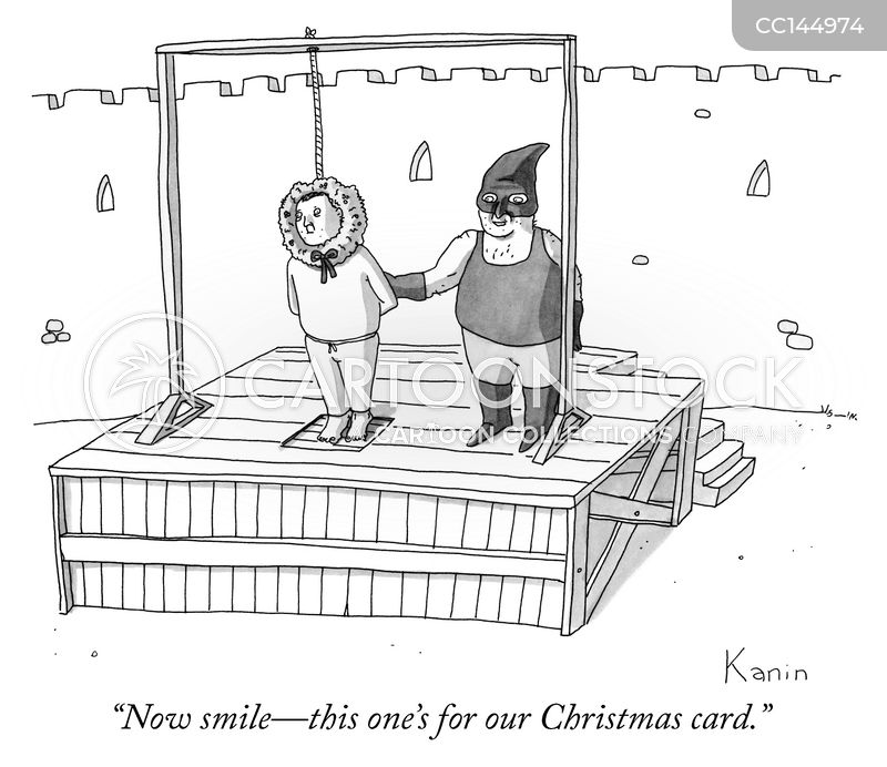 christmas cards cartoon