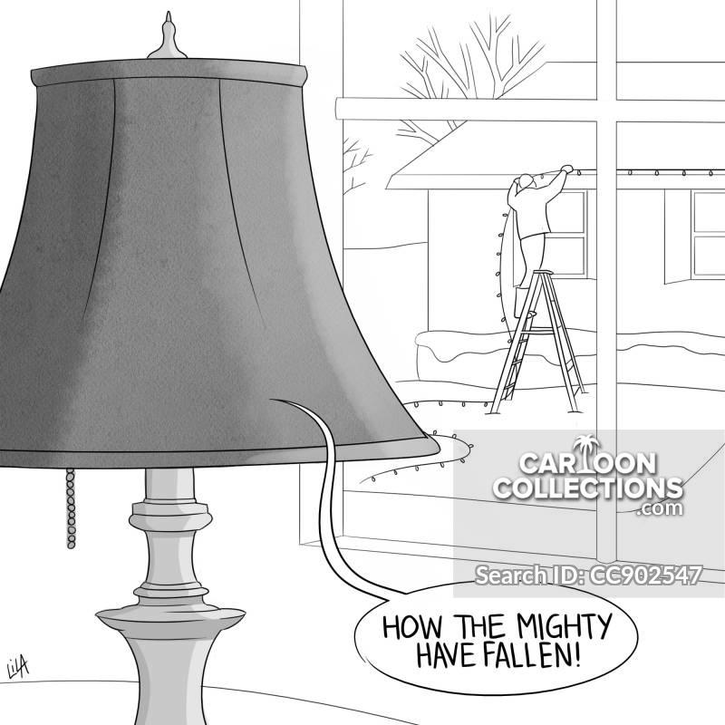 lamp cartoon