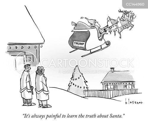 trump supporter cartoon