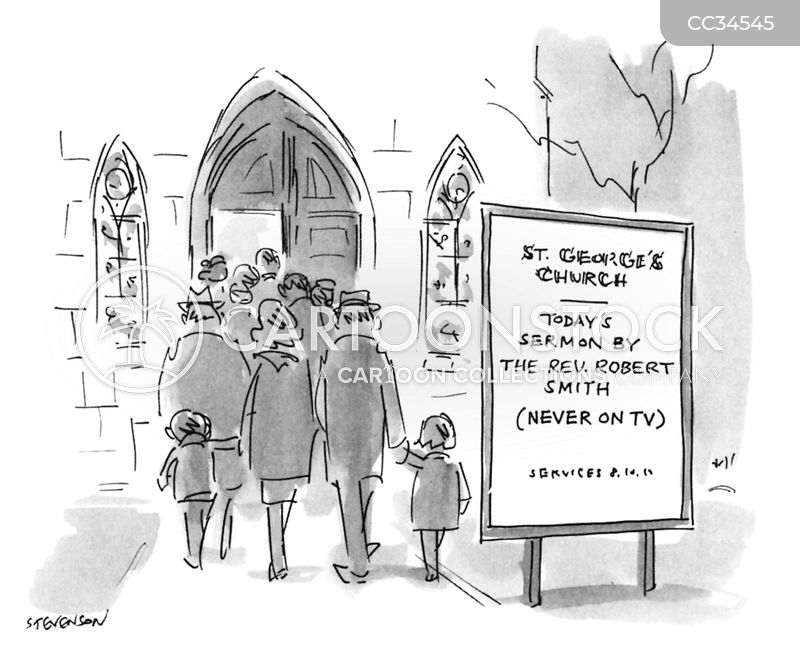 Church cartoon