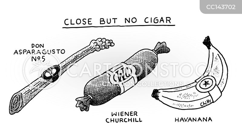 Cigars cartoon