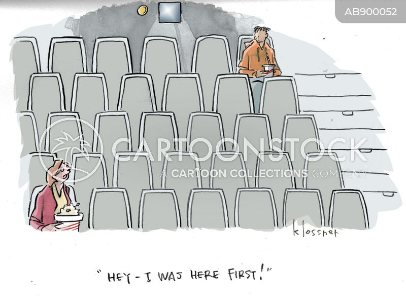 Cinema Seats Cartoons and Comics - funny pictures from ...