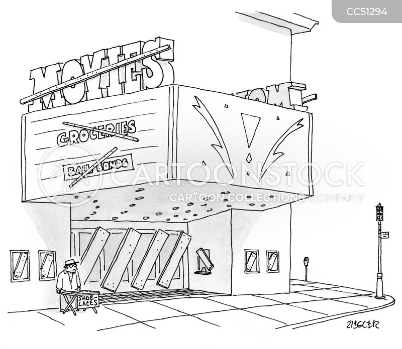 going out of business cartoon