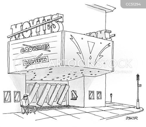 closed cartoon