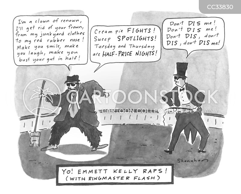 circus act cartoon