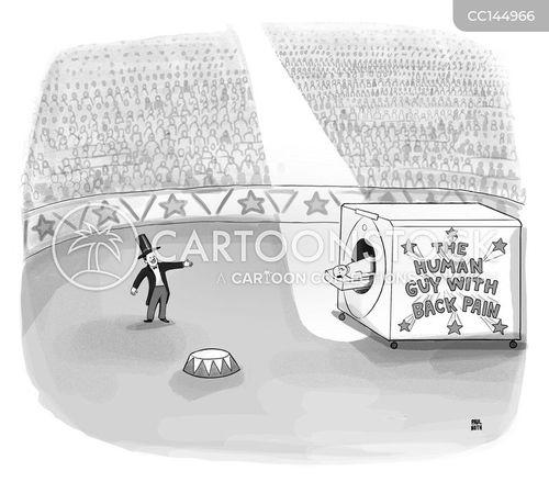 circus tricks cartoon