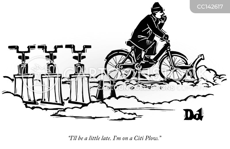 Citi Bike cartoon