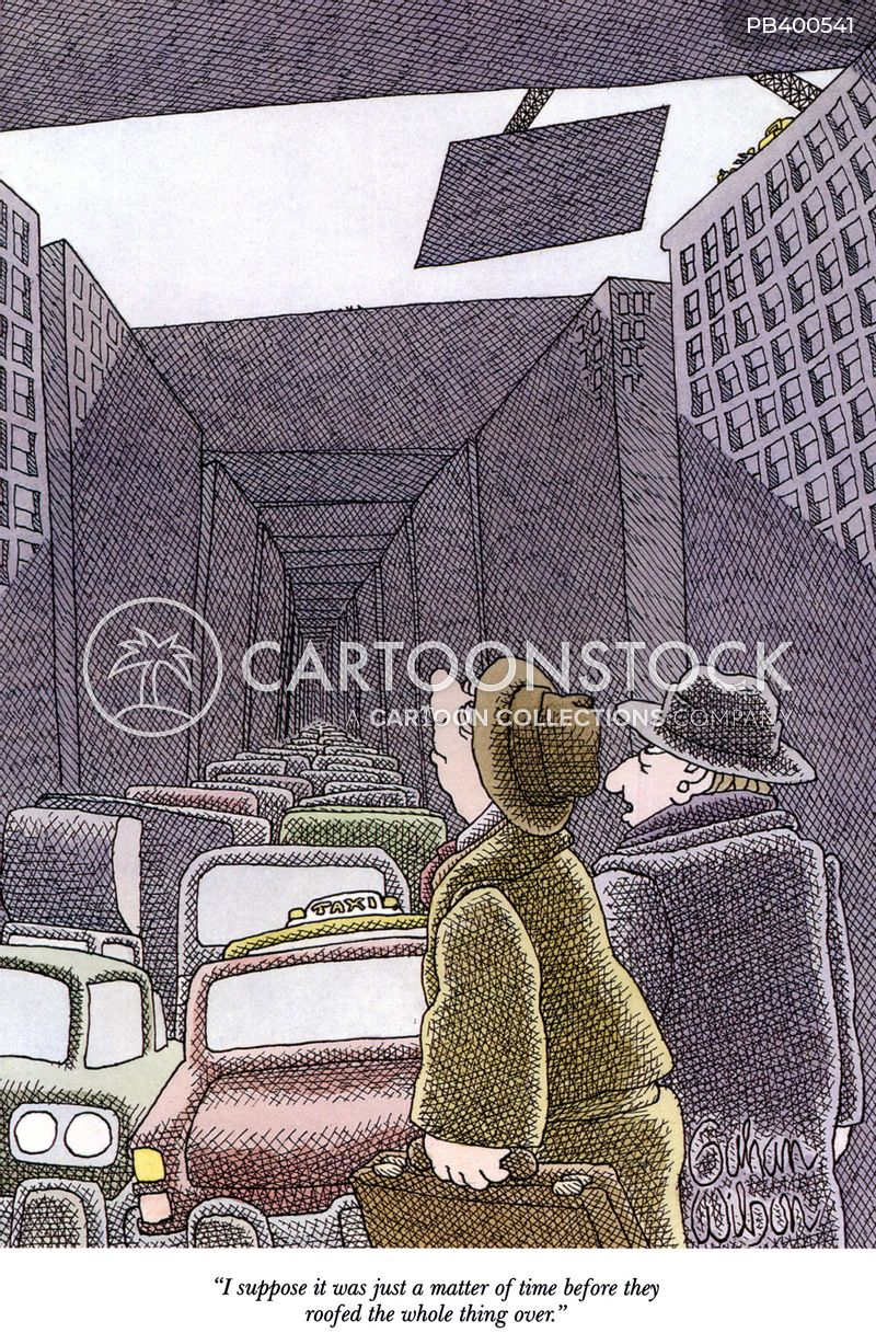 roofing over cartoon
