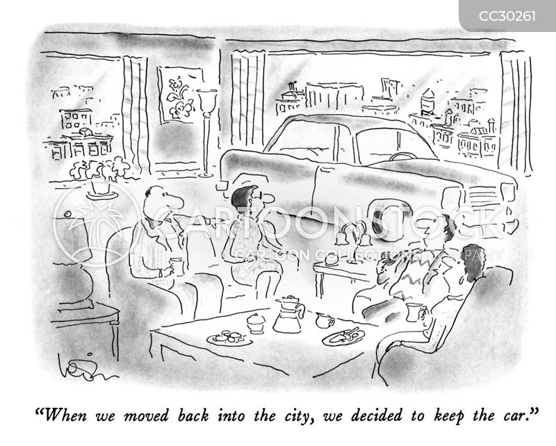 urban cartoon
