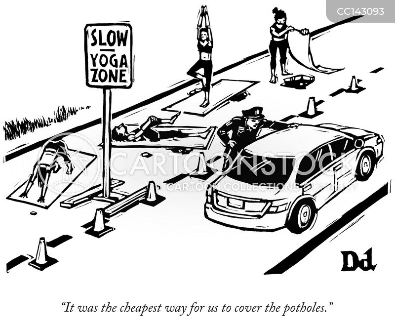 Yoga Mats cartoon