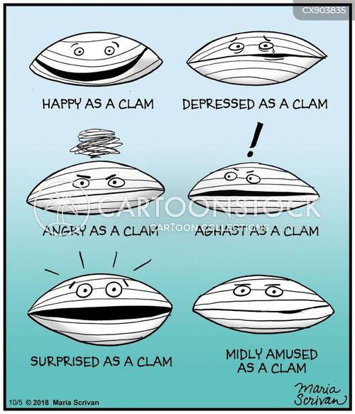 clams cartoon