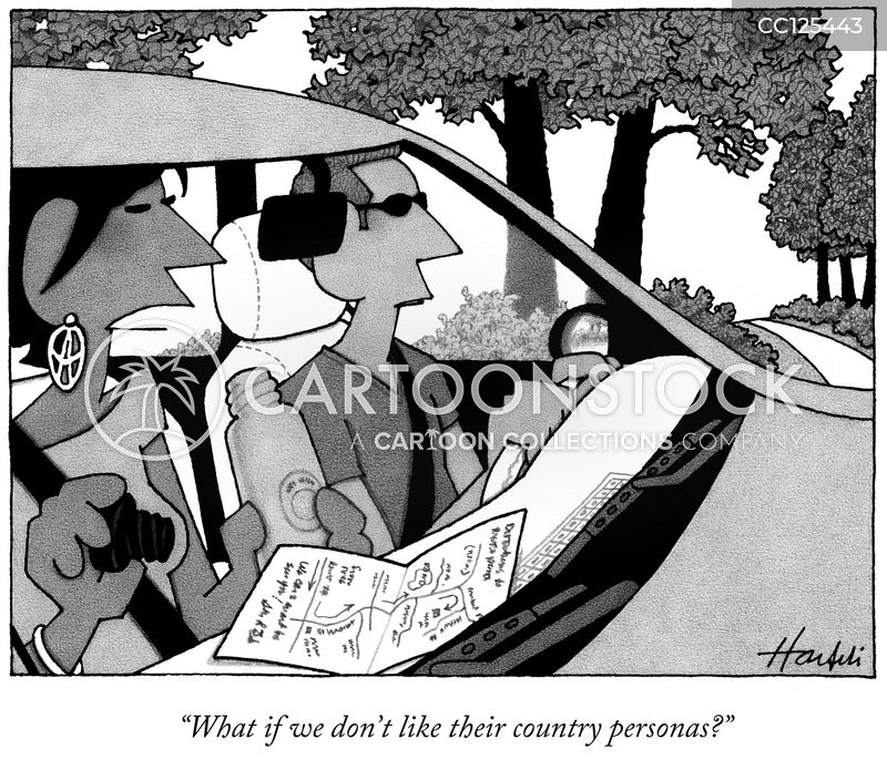 drive cartoon
